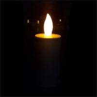 Tvshopmarket Işık Sensörlü Led Mum