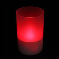Tvshopmarket Cam Mumluk İçi Led Kırmızı Tealight