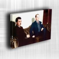 Doku Canvas Baskı Atatürk Atge-001