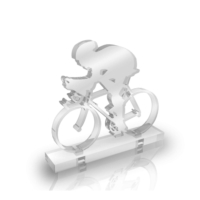 Purupa Bisikletçi Dekoratif Obje Hediyelik