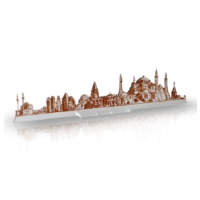 Purupa İstanbul Silüet Dekoratif Obje Hediyelik