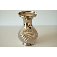 Şahika Tasarım - Gümüş Kaplama Bakır Vazo