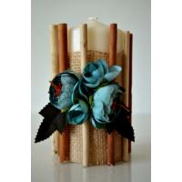 Şahika Tasarım - Bambu Çubuklu Mum 01 13 x 7 cm