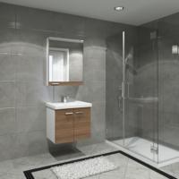 Boncuk Banyo Gag 60 Cm Banyo Dolabı Mdf