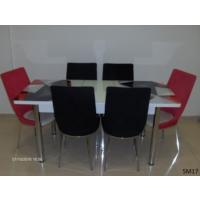 Teknoset Mutfak Masa Takımı Sm17Kırmızı-Siyah