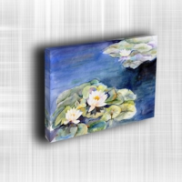 Doku Canvas Baskı Çiçek- CIGE333
