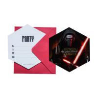 KullanAtMarket Star Wars Güç Uyanıyor Davetiye - 6 Adet