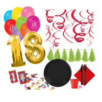 KullanAtMarket 18 Yas Özel Parti Seti - 311 Adet
