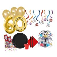 KullanAtMarket 60 Yas Özel Parti Seti - 245 Adet