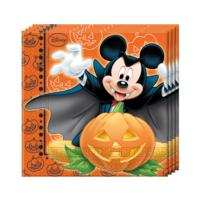 KullanAtMarket Mickey Halloween Kağıt Peçete 33x33cm - 20 Adet