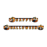 KullanAtMarket Mickey Happy Halloween Harf Afiş - 1 Adet