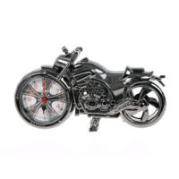 Yeshills Motosiklet Tasarımlı Alarmlı Masa Saati