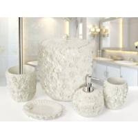 ROMANTIC Sedef 5 Prç Banyo Seti Ekru Banyo Seti 5 parça