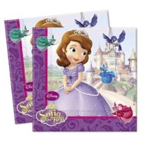 Disney Prenses Sofia Peçete ( 20 Adet)