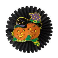 Hkostüm Cadılarbayramı Halloween Parti Şirin Balkabağı Yelpaze Süs