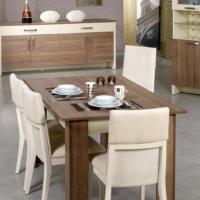Pasific Home Bois Açılır Yemek Masası Koyu Meşe