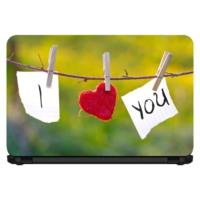 15.6 INC Notebook Sticker Aşkın İlanı