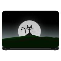 15.6 INC Notebook Sticker Büyük Gözlü Sevimli Kedi