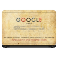 15.6 INC Notebook Sticker Klasik Google Arama Motoru