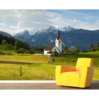 İsviçre Alpler Duvar Sticker 350x250cm