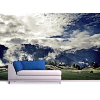 Bulutlar Duvar Sticker 250x250cm