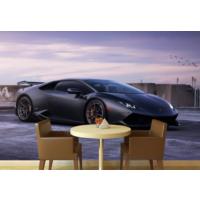 Lamborghini 005 Duvar Sticker 250x250cm