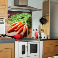 Kokmaz Bulaşmaz Silinebilinir Mutfak Tavşan Rüyası Sticker 58 x 52 cm