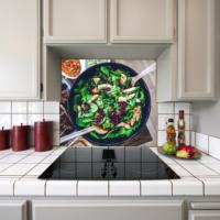 Kokmaz Bulaşmaz Silinebilinir Mutfak Salata Sticker 58 x 52 cm