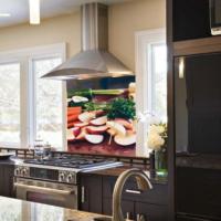 Kokmaz Bulaşmaz Silinebilinir Mutfak Havuçlar Sticker 58 x 52 cm
