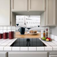 Kokmaz Bulaşmaz Silinebilinir Mutfak Kahve ve Kek Sticker 58 x 52 cm