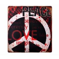 Decotown Love Ahşap Pano 40*40 (18131)