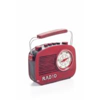 Decotown Nostaljik Kırmızı Radyo Biblo
