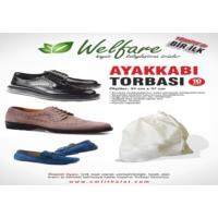 Original Boutique Ayakkabı Torbası 10 Adet Erkek Siyah Krem (Video)