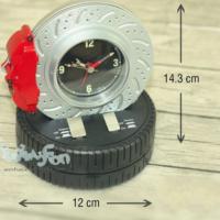 Original Boutique Döner Lastik Alarmlı Masa Saati (Pedal Tuşlu Tasarım)