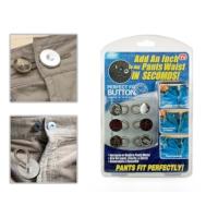 Original Boutique Button Extenders Genişletici Metal Düğme Seti