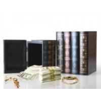 Original Boutique Kitap Görünümlü Ahşap Gizli Kasa Seti