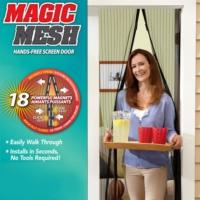 Pratik Mıknatıslı Kapı Sinekliği Magic Mesh