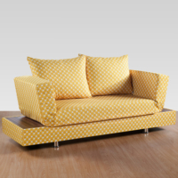 Sigma Tasarım Roma Sandıklı Kanepe Örgü Sarı