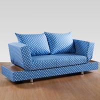 Sigma Tasarım Roma Sandıklı Kanepe Keten Mavi