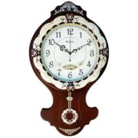 Regal 311 Awz Ahşap Sarkaçlı İşlemeli Duvar Saati