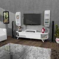 Sanal Mobilya Lara Tv Ünitesi Duvar Ünitesi 140 Cm