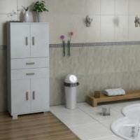 Sanal Mobilya Sorrento Çok Amaçlı Banyo Dolabı G3-Ç4-K1-K1