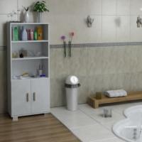 Sanal Mobilya Sorrento Çok Amaçlı Banyo Dolabı G3-K1