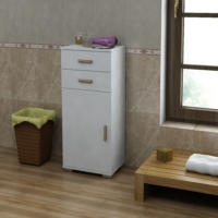 Sanal Mobilya Sorrento Çok Amaçlı Banyo Dolabı G6-Ç2-K5