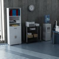 Sanal Mobilya Sorrento Çok Amaçlı Ofis Dolabı G1-Ç3-K4