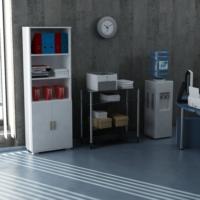 Sanal Mobilya Sorrento Çok Amaçlı Ofis Dolabı G1-K4-K4