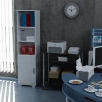 Sanal Mobilya Sorrento Çok Amaçlı Ofis Dolabı G2-K8