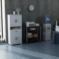 Sanal Mobilya Sorrento Çok Amaçlı Ofis Dolabı G3-Ç3-K1-K1