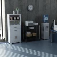 Sanal Mobilya Sorrento Çok Amaçlı Ofis Dolabı G3-Ç4-K1