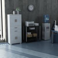 Sanal Mobilya Sorrento Çok Amaçlı Ofis Dolabı G3-Ç4-K1-K1